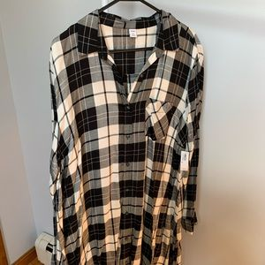 Brand new old navy flannel dress